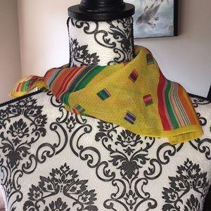 Vintage neck scarf handkerchief